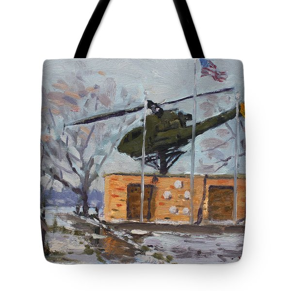 Veterans Memorial Park In Tonawanda Tote Bag
