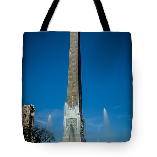 Veteran's Memorial Plaza Tote Bag