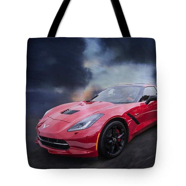 Vette Storm Tote Bag