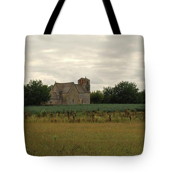 Vezac Church 1300 Tote Bag
