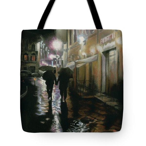 Via Della Spada - Firenze, Italia Tote Bag by Kelly Borsheim