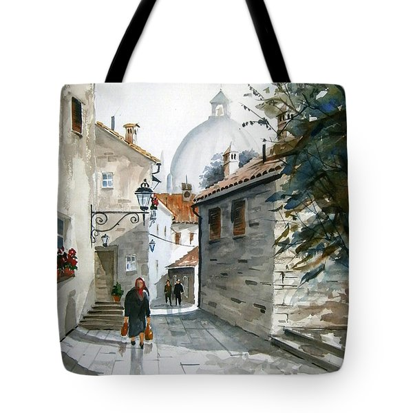 Via Coronari Tote Bag