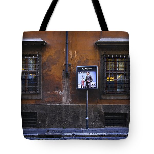 Via Sistina Man Tote Bag