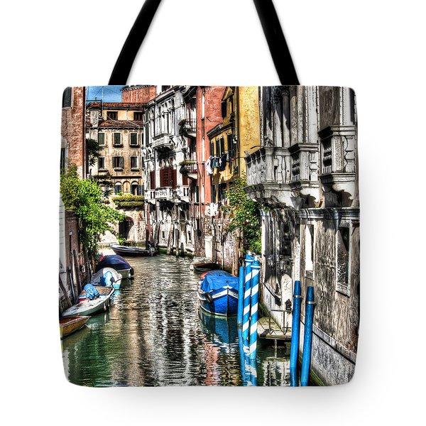 Viale Di Venezia Tote Bag