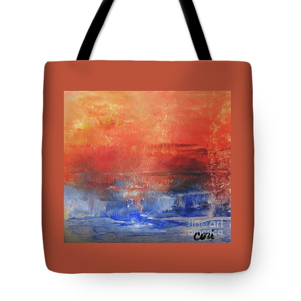 Vibrance Of Fall Tote Bag