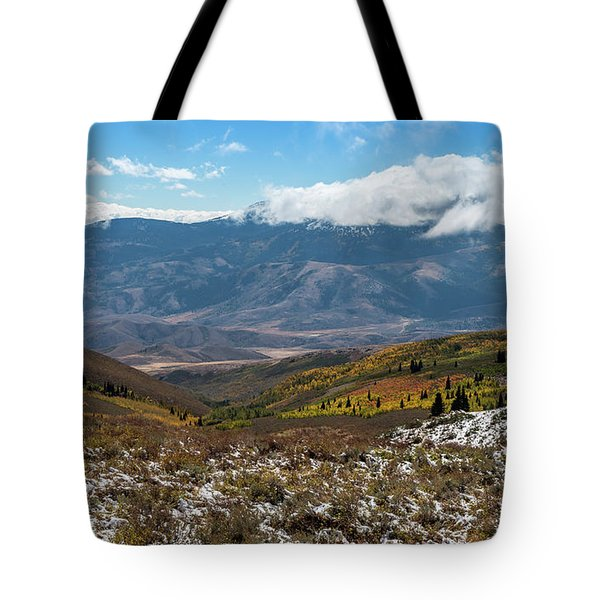 Vibrance Of The Storm Idaho Landscape Art By Kaylyn Franks Tote Bag