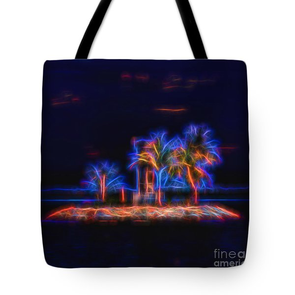 Vibrant Solitude Tote Bag