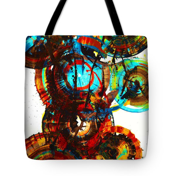 Vibrant Sphere Series 995.042312vsx2 Tote Bag