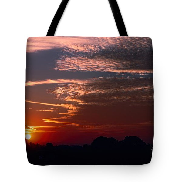 Vibrant Sunset Tote Bag