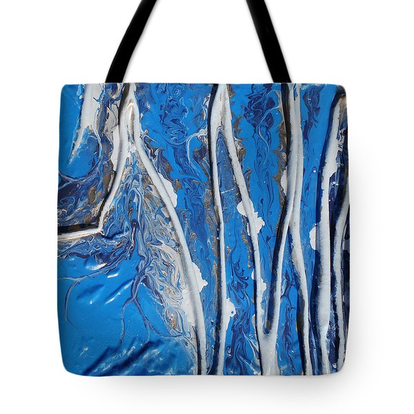 Vibration Tote Bag