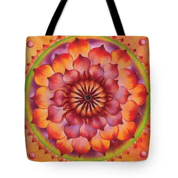 Vibration Of Joy And Life Tote Bag