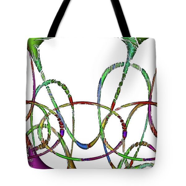 Vibrations Tote Bag