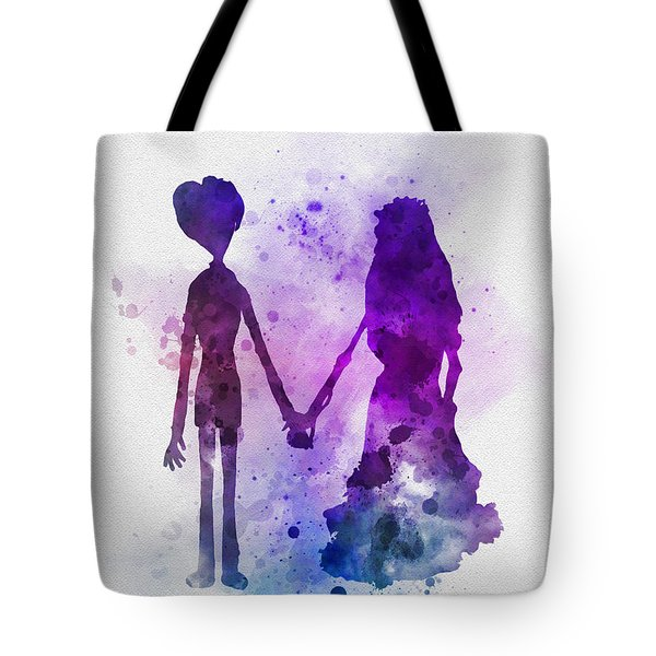 Victor And Emily Tote Bag by Rebecca Jenkins