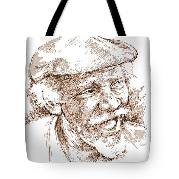 Victor Boa Tote Bag