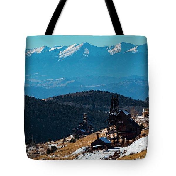 Victor Gold Mine Tote Bag