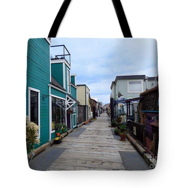 Victoria British Columbia Fisherman's Wharf Tote Bag