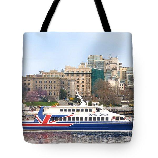 Victoria Clipper Tote Bag