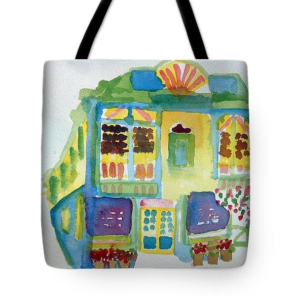 Victoria Corner Tote Bag