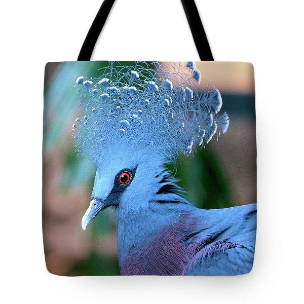Victoria Crowned Pigeon Tote Bag