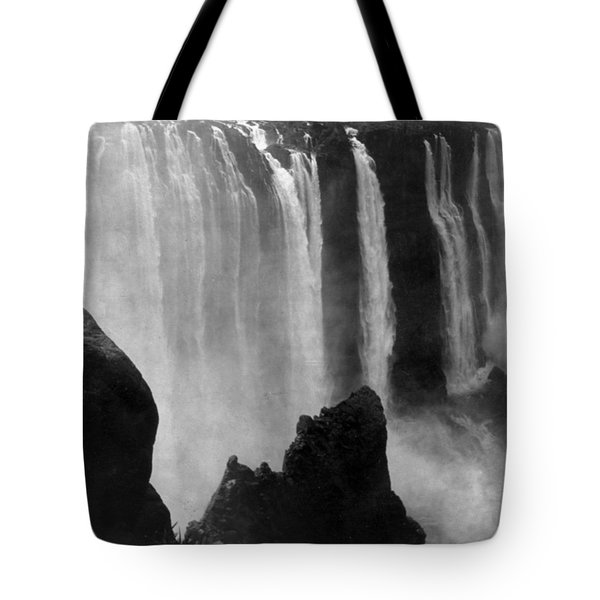 Victoria Falls - C 1911 Tote Bag by International  Images