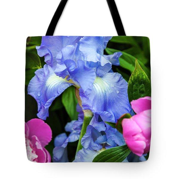 Victoria Falls Iris Tote Bag