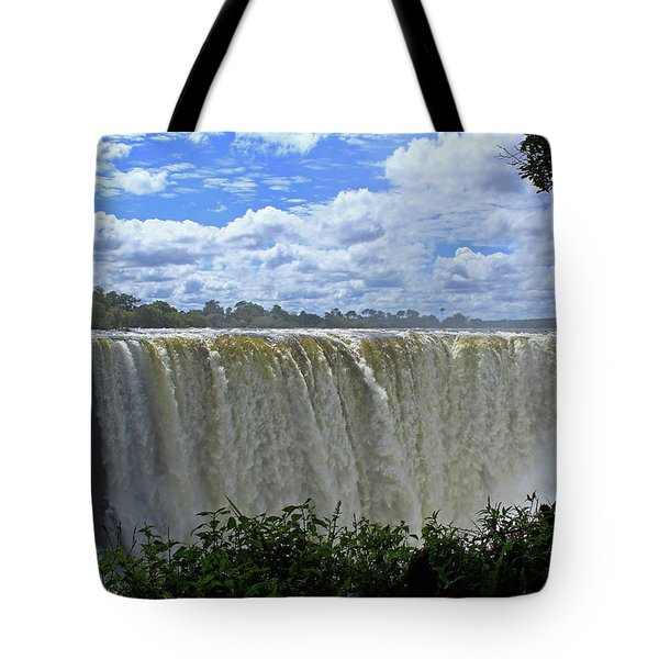 Victoria Falls Zimbabwe Tote Bag