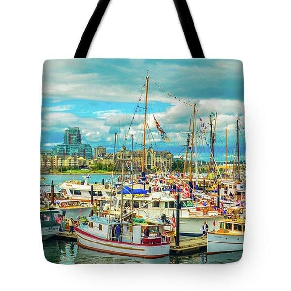 Victoria Harbor 2 Tote Bag