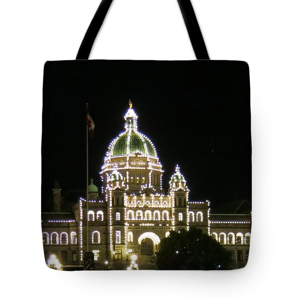 Victoria Legislative Buildings Tote Bag