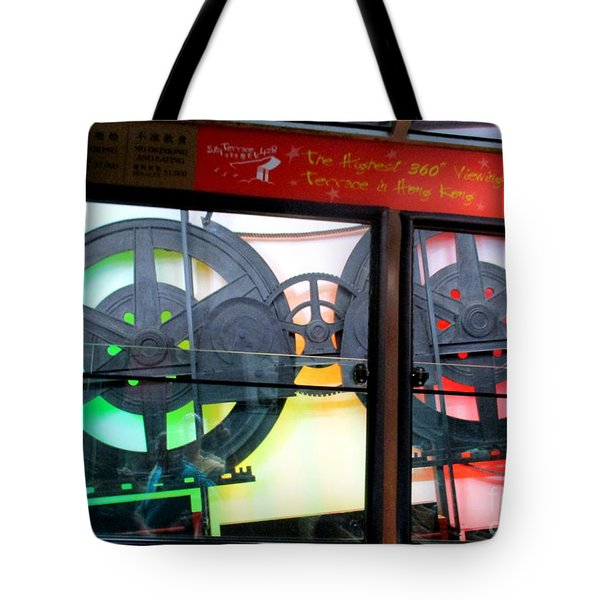 Tote Bag featuring the photograph Victoria Peak 4 by Randall Weidner