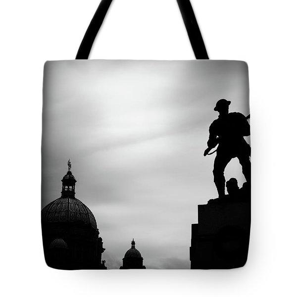 Victoria Silhouettes Tote Bag