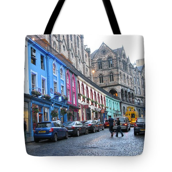 Victoria St Tote Bag by Mini Arora