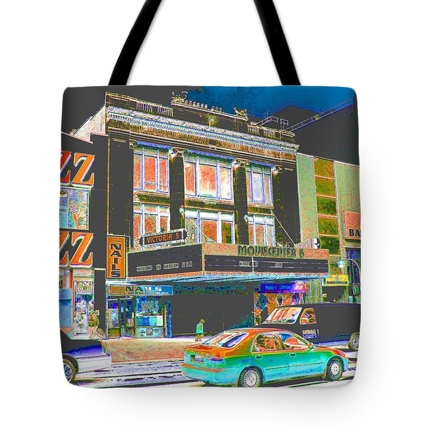 Victoria Theater 125th St Nyc Tote Bag
