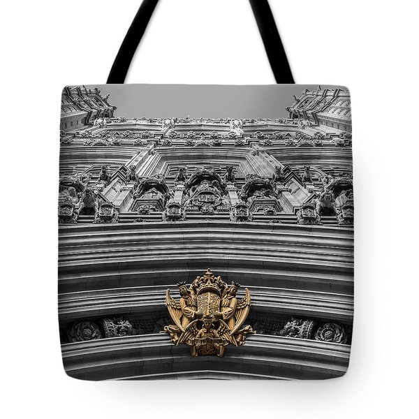 Victoria Tower Low Angle London Tote Bag