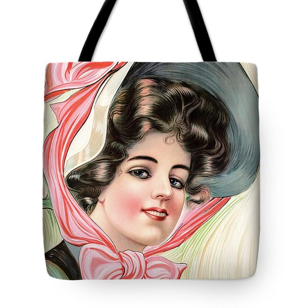 Victorian Beauty Tote Bag