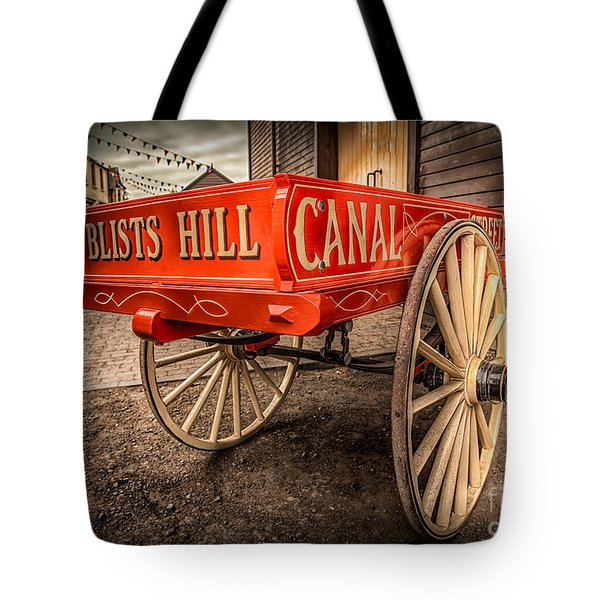 Victorian Cart Tote Bag by Adrian Evans