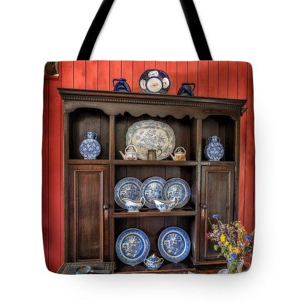Victorian Dresser  Tote Bag