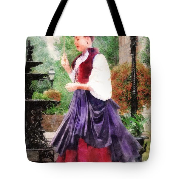 Victorian Lady Tote Bag by Francesa Miller