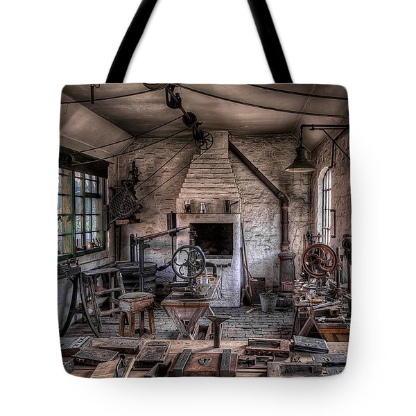 Victorian Locksmith Tote Bag by Adrian Evans