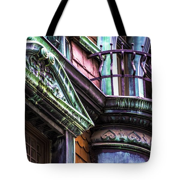 Victorian On Rush V2 Tote Bag by Raymond Kunst