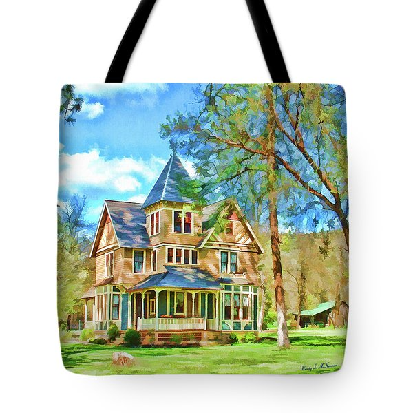 Victorian Painting Tote Bag
