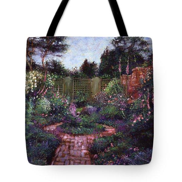 Victorian Secret Garden Tote Bag