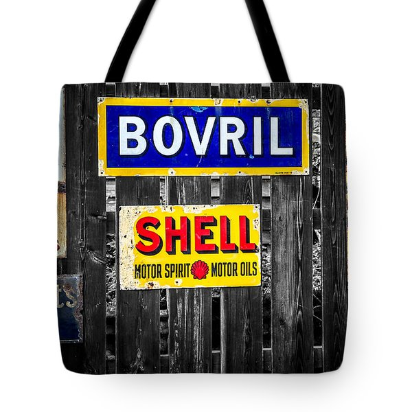 Victorian Signs Tote Bag by Adrian Evans