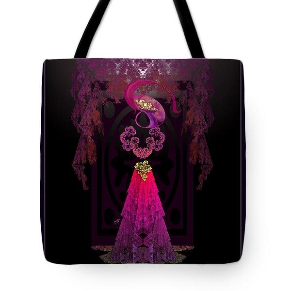 Victorian Silhouette Tote Bag