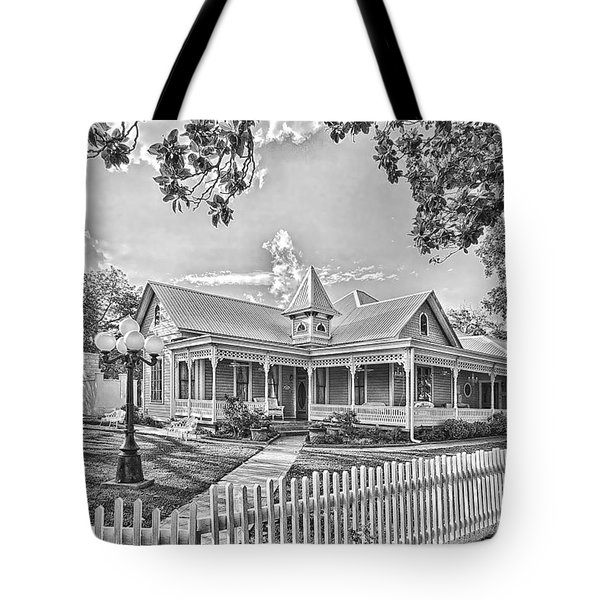 Victorian Sunday House Tote Bag