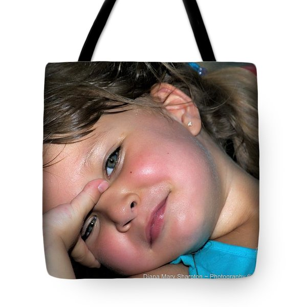 Victorias Smile Tote Bag