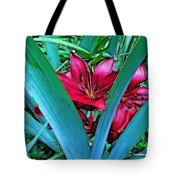 Victory Garden Tote Bag