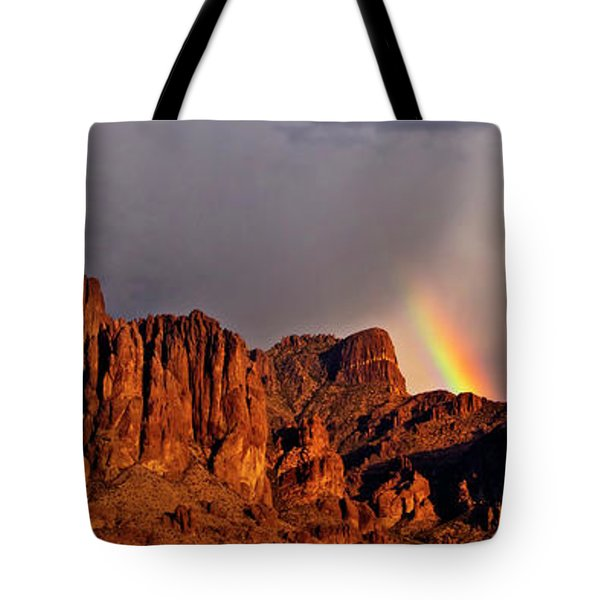 Victory In The Storm Tote Bag