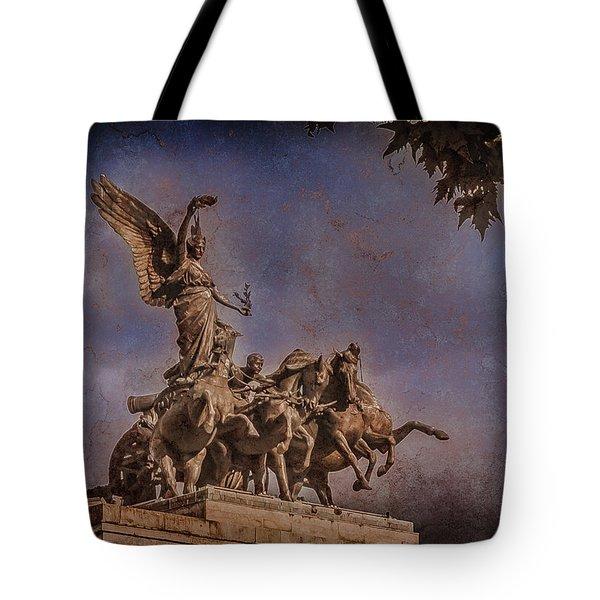 London, England - Victory Tote Bag