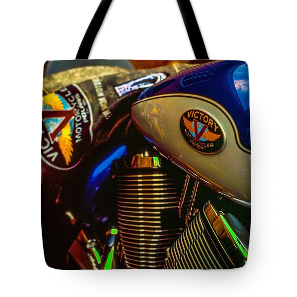 Tote Bag featuring the photograph Victory by Samuel M Purvis III