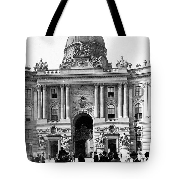 Vienna Austria - Imperial Palace - C 1902 Tote Bag by International  Images